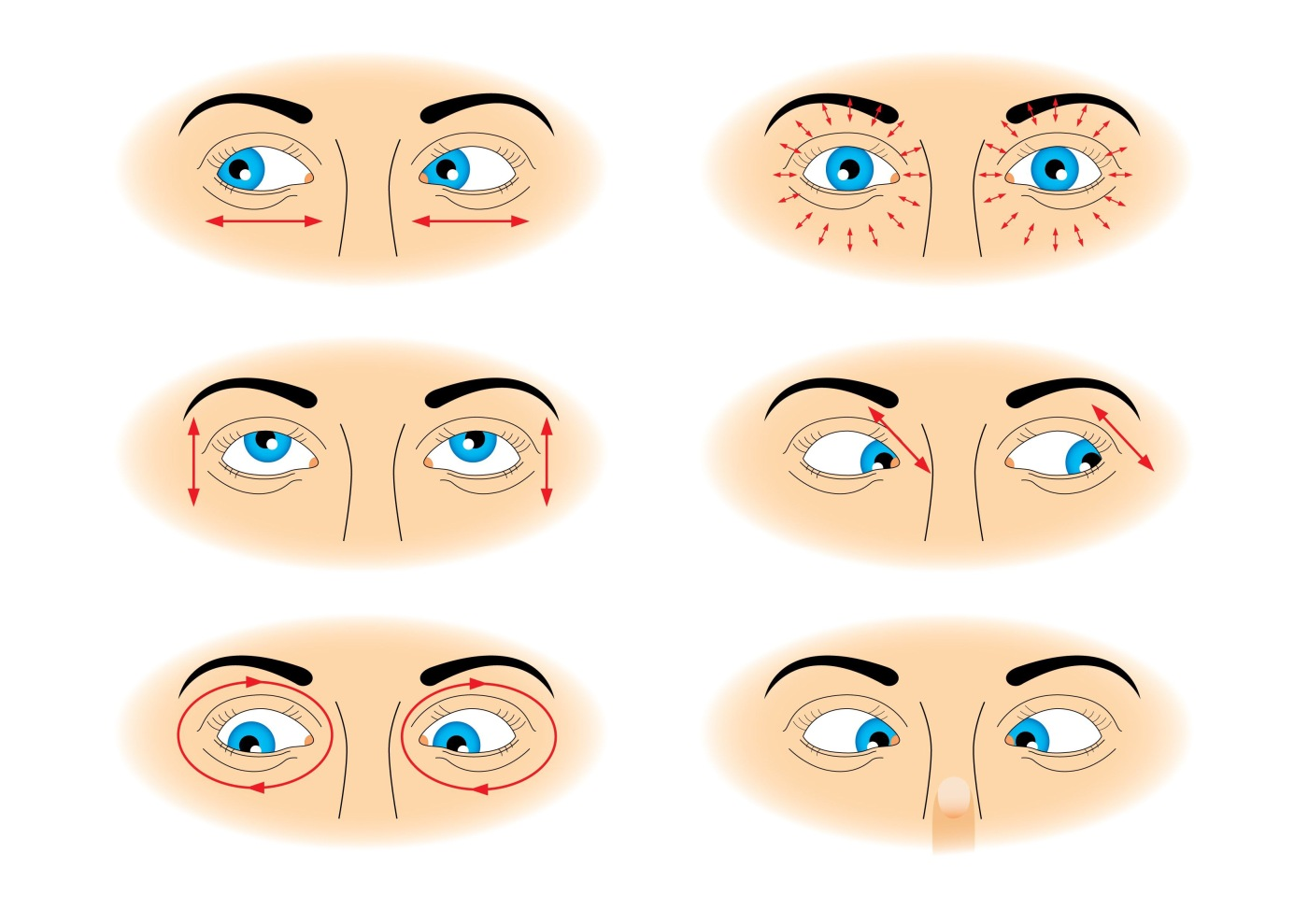 Tired Strained Eyes Here Are 6 Eye Yoga Exercises You Need Now Yoga Lifestyle With Cristina
